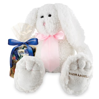 Ghirardelli Cottontail Bunny with Squares Chocolates Gift
