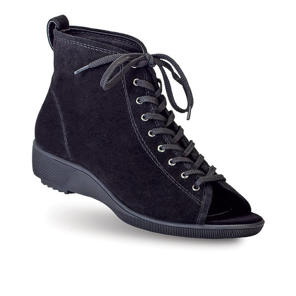 Women's Marcella Lace-up Open-toe Ankle Boots