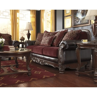 Signature Design by Ashley Weslynn Place Burgundy Sofa