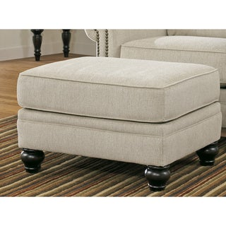 Signature Design by Ashley Milari Linen Ottoman