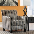 Signature Design by Ashley Denham Mercury Houndstooth Print Fabric Accent Chair