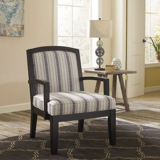 Signature Design by Ashley Alenya Quartz Off-white Striped Accent Chair