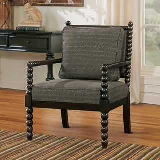 Signature Design by Ashley Milari Grey Linen Accent Chair