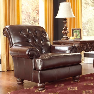 Signature Design by Ashley Weslynn Place Burgundy Accent Chair