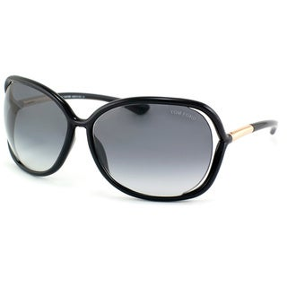 Tom Ford Women's 'TF 76 Raquel 199' Oversize Sunglasses