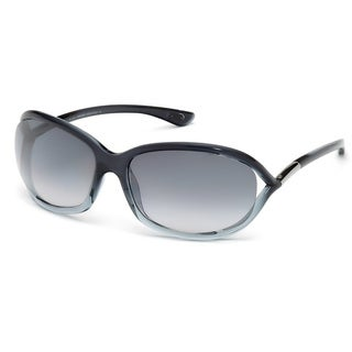 Tom Ford Women's 'TF008 Jennifer 20B' Grey Gradient Plastic Fashion Sunglasses