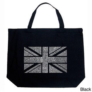 Los Angeles Pop Art Union Jack Shopping Tote