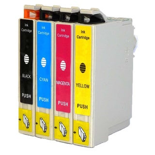 Replacement Epson 60 T060 T060120 T060220 T060320 T060420 Compatible Ink Cartridge (Pack Of 4 :1K/1C/1M/1Y)