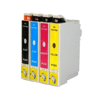 Replacement Epson 69 T069 T069120 T069220 T069320 T069420 Compatible Ink Cartridge (Pack Of 4 :1K/1C/1M/1Y)