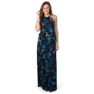 Vince Camuto Women's Sleeveless Printed Maxi Dress