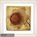 Zhee Singer 'Vintage Botanical No 20c - Antiqued' Framed Fine Art Print