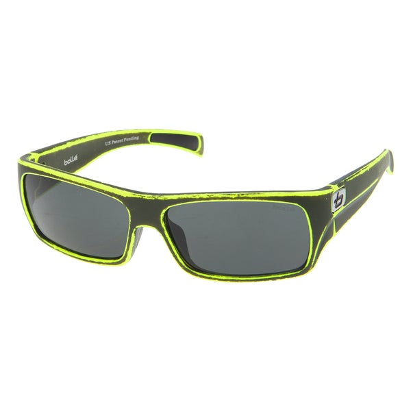 Bolle Men's 'Oscar' Stonewashed Green/ TNS Lens Sunglasses