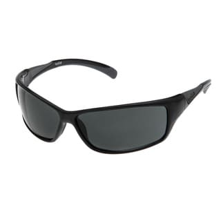 Bolle Men's 'Speed' Shiny Black Streamlined Sport Sunglasses