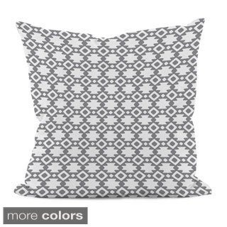 20 x 20-inch Geometric Decorative Throw Pillow