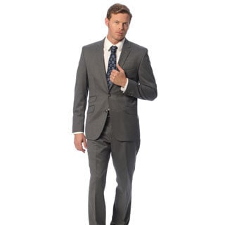 Kenneth Cole New York Men's Extreme Slim Fit Grey Suit