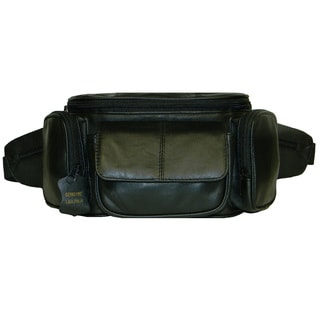 Hollywood Tag XX Large Leather Fanny Pack
