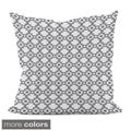18 x 18-inch Coloful Geometric Decorative Throw Pillow