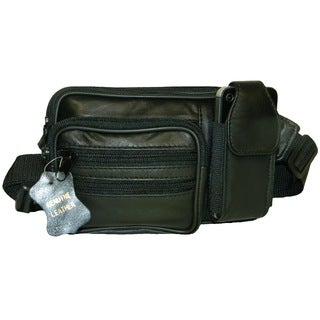 Hollywood Small Rectangle Leather Fanny Pack