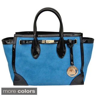 Cleopatra Tote with Black Edging Detail