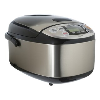 Zojirushi NS-LAC05XT Micom 3-cup Rice Cooker and Warmer Black & Stainless