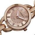 Akribos XXIV Women's Diamond Accent Swiss Quartz Watch
