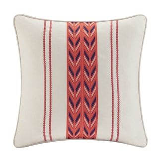 Echo 'Cozumel' 18-inch Square Cotton Throw Pillow
