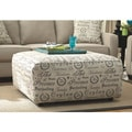 Signature Design by Ashley Alenya Quartz Oversized Ottoman