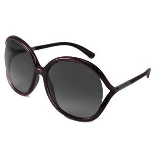 Tom Ford Women's TF0252 Rhi Rectangular Sunglasses