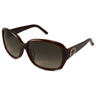 Gucci Women's GG3178 K Rectangular Sunglasses