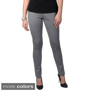 Journee Collection Women's Elastic Waistband Jegging Pants