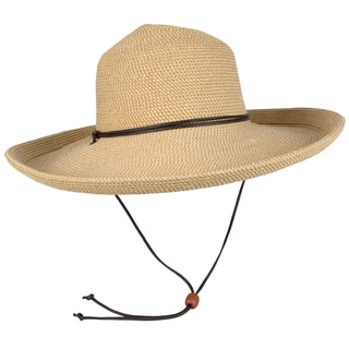 Journee Collection Women's Corded Kettle Brim Sunhat