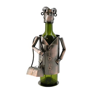 Doctor Bronze Metal Wine Bottle Holder