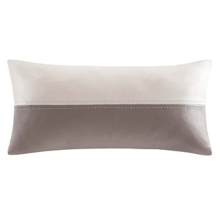 Echo 'Status' Oblong Two-tone Throw Pillow