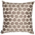 Echo Design Odyssey Square Brown/ Ivory Throw Pillow
