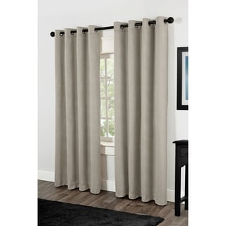 Villamora Thermal Insulated Grommet Top Curtain Panel Pair