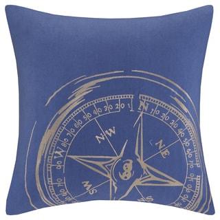 Woolrich 'Big Sky' Square Blue Cotton Pillow