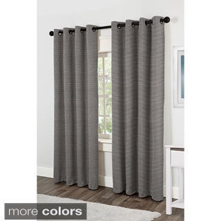 Matka Grommet Top 84 inch Curtain Panel Pair