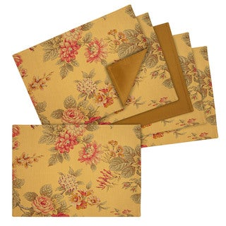 Amelia Floral Cotton Placemats (Set of 6)