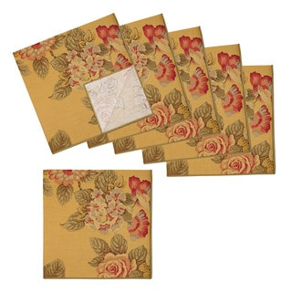 Amelia Cotton Floral Napkins (Set of 6)