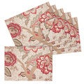 Arden Reversible Cotton Floral Placemats (Set of 6)