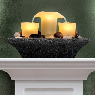 Order Home Collection Fameless LED Candle Fountain