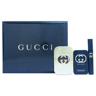 Gucci 'Guilty' Men's 3-piece Fragrance Gift Set