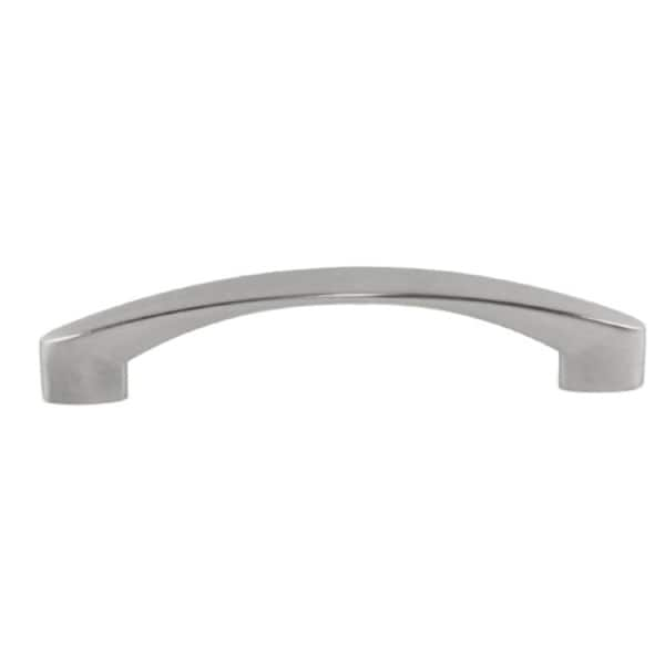 Contemporary High Heel Arch Design Stainless Steel Finish 5.875-inch Cabinet Bar Pull Handle (Pack of 4)