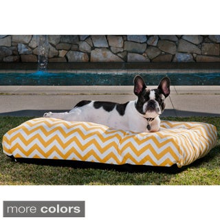 Indoor/ Outdoor Chevron Pet Bed