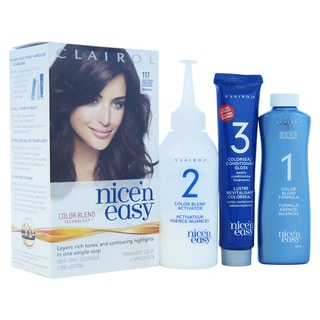 Clairol Nice 'n Easy Natural Medium Golden Brown Permanent Hair Color (1 Application)