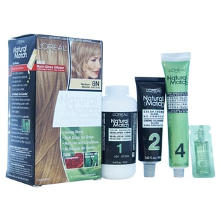 L'Oreal Paris Natural Match Medium Blonde Hair Color (1 Application)