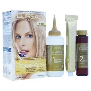 L'Oreal Superior Preference Natural Blonde Hair Color (1 Application)