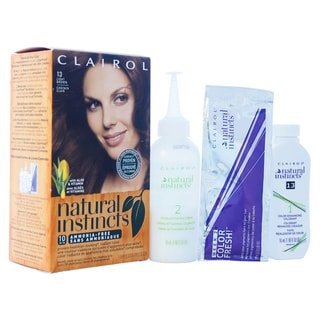 Clairol Natural Instincts Suede Light Brown Hair Color (1 Application)