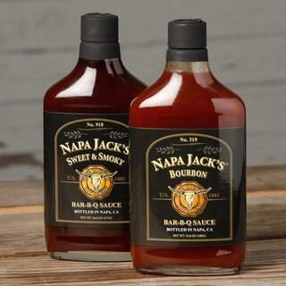 Napa Jack's 2-pack Sweet & Smoky/ Bourbon Bar-B-Q Sauce
