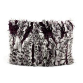 Nourison Mina Victory 12 x 18-inch Faux Fur Throw Pillow